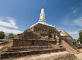 Ancient pagoda in Thailand Royalty Free Stock Photo
