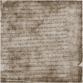 Ancient Parchment Text Paper Royalty Free Stock Image
