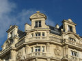 Ancient parisian building Royalty Free Stock Photography