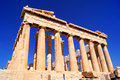 Ancient parthenon iconic athens landmark the greece Royalty Free Stock Image