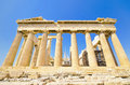 Ancient parthenon temple athens greece acropolis in Stock Images