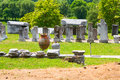 The ancient remains in Philippi, Greece Royalty Free Stock Photo