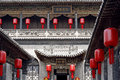 Ancient residence of China. Royalty Free Stock Photography