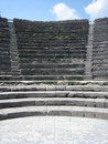 Ancient Roman Amphitheater Royalty Free Stock Images