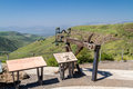 Ancient Roman ballista in Gamla, Israel Royalty Free Stock Photo