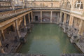 Ancient Roman Baths Royalty Free Stock Photo