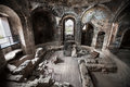 Ancient Roman baths. Catania, Sicily. Italy Royalty Free Stock Photo