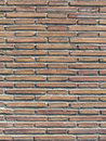 Ancient roman brick wall Royalty Free Stock Photo