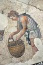Ancient roman mosaic Stock Image