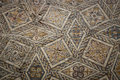 Ancient roman mosaic floor Royalty Free Stock Photos