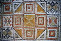 Ancient Roman Mosaic Tiles Royalty Free Stock Photo