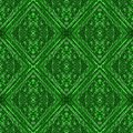 Roman mosaic abstract background in shades of vivid green Royalty Free Stock Photo