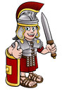 Ancient Roman Soldier Royalty Free Stock Photo
