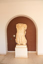 Ancient roman statue in the museum of archaeology of tunisia Royalty Free Stock Image