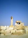 Ancient roman time town in palmyra tadmor syria greco roman persian period the Royalty Free Stock Photos