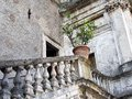 Ancient roman villa tivoli italy exterior of d este in the resort town of Royalty Free Stock Images