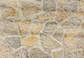 Ancient roughness stone wall. Stonework of sandstone.. Royalty Free Stock Photo