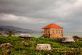 Ancient Ruins of Byblos City Royalty Free Stock Photo