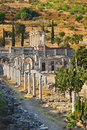 Ancient ruins in Ephesus Turkey Stock Photo