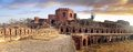 Ancient ruins of fatehpur sikri fort india picturesque panorama Stock Photography