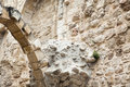 Ancient ruins jewish quarter jerusalem old city israel Stock Photos