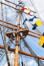 Ancient sailing vessel Royalty Free Stock Photos