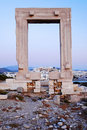 Ancient seaside Greek ruins Stock Images