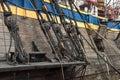 Ancient ship Royalty Free Stock Photo