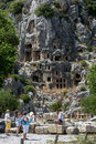 The ancient site of Myra at Demre in Turkey. Royalty Free Stock Photo