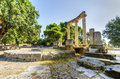 Ancient site of Olympia, Greece Stock Photos