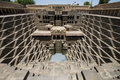 Ancient Step Well, Tourist Travel Attraction in India Royalty Free Stock Photo
