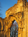 Ancient stone abbey, England. Stock Photography