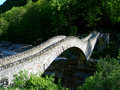 Ancient Stone Bridge Royalty Free Stock Photography