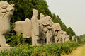 Ancient Stone Statues - Song Dynasty Tombs, Gongyi, Luoyang, China
