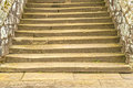 Ancient Stone Steps Royalty Free Stock Photo