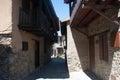 Ancient street the village of kakopetria cyprus Stock Photos
