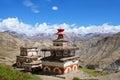 Ancient stupa in Dolpo, Nepal Royalty Free Stock Photo
