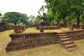 The ancient Sukhothai Historical Park Royalty Free Stock Image