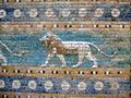 Ancient Sumerian Tiles Wall Art Royalty Free Stock Photo
