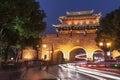 Ancient Suzhou city at night Royalty Free Stock Photo