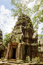 Ancient Ta Prohm Temple Stock Images