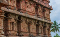 Ancient temple bas reliefs gangaikonda cholapuram south india Stock Image