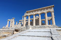 Ancient temple in Greece Royalty Free Stock Photo