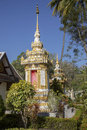 Ancient temple in Laos Royalty Free Stock Photo