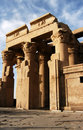 Ancient temple of pharaoh Sobek in Kom Ombo Royalty Free Stock Photo