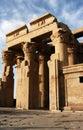 Ancient temple of pharaoh Sobek in Kom Ombo Royalty Free Stock Photo