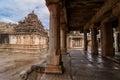 Ancient temple premises of the ramalingeshwara at avani kolar india Stock Photo