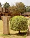 Inner -prakaram- of the ancient  Brihadisvara Temple in Thanjavur, india.