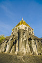 Ancient temple wat chiang man temple in chiang mai thailand important attractions Stock Images