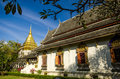 Ancient temple wat chiang man temple in chiang mai thailand important attractions Royalty Free Stock Photography